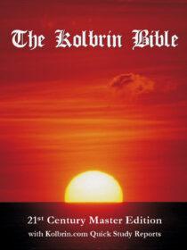 The Kolbrin Bible: Signed A4 Paperback