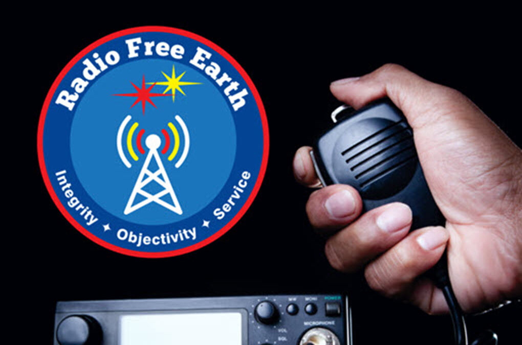 Radio Free Earth: Signed Paperback